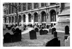 Cemetery in Manhattan - NY - 1998