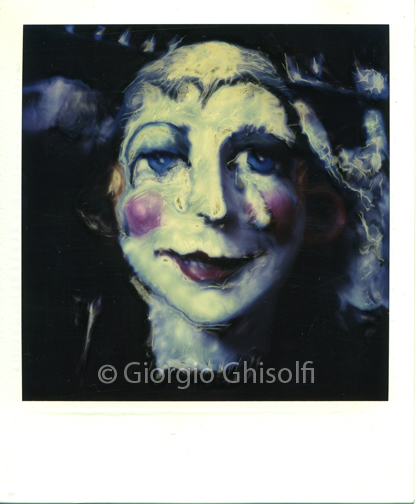 Giant carnival mask-Viareggio 1984
