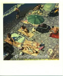 Beach in Paraggi - Liguria - Italy 1992