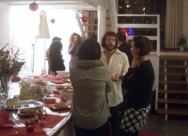 ...conversazioni tra arte, moda, musica e cibo...