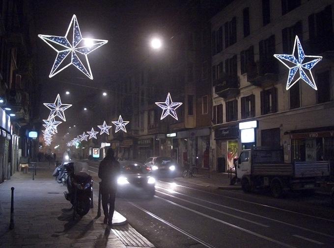 Corso S. Gottardo by night