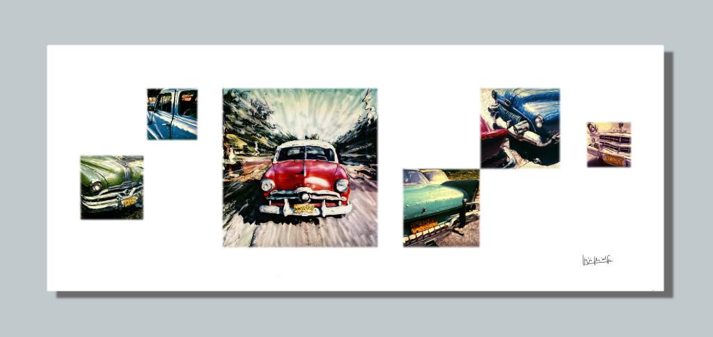 Cars in Cuba 2001-2014   cm.200x80